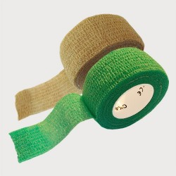 OK-plast 2 ks - náplast béžová a zelená (2,5x450)