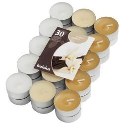 Čajové svíčky Bolsius - Vanilka (30 ks)