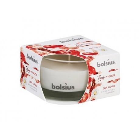 BOLSIUS Aroma svíčka ve skle 63/90 Get cosy