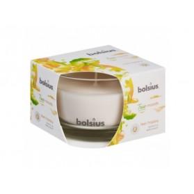BOLSIUS Aroma svíčka ve skle 63/90 Feel Happy